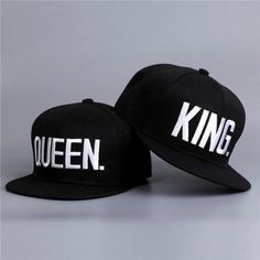 QUEEN KING Baseball Cap Hats Lovers Snapback Sun Hat Caps Adjustable>> UPS Free Shipping Now with 25% off. Get a gift for your love. #couple #coupleselection #hat #kingqueen