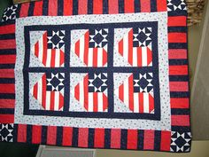 Quilts of Valor Quilt by The Art of Quilting by Art Wayland, via Flickr