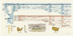 baseballteams zoom Genealogy of Baseball Teams - HistoryShots InfoArt - 1