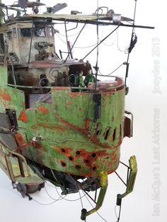 "Ian McQue's ""The Last Airborne"" | scale model"