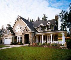 Elevation of Craftsman House Plan 87606 Love