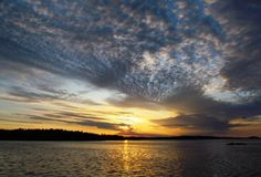 Morning at lake Saimaa, Savonlinna.