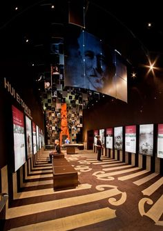Best Awards - Story Inc. / Ngä Pümanawa ō Te Arawa: The Beating Hearts of Te Arawa Exhibition Booth Design, Exhibition Display, Exhibition Space, Museum Exhibition, Exhibit Design, Interactive Exhibition, Interactive Design, Environmental Graphics, Environmental Design