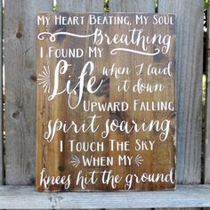 I found my LIFE when I laid it down. Love these lyrics https://www.etsy.com/listing/232120890/touch-the-sky-from-hillsong-united-16-x