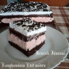 My Recipes, Sweet Recipes, Cookie Recipes, Dessert Recipes, Hungarian Desserts, Hungarian Recipes, Hungarian Food, Eastern European Recipes, European Cuisine
