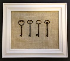 use old book pages and vintage keys on old barn boards Could do a ...
