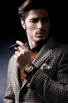 ♂ Masculine & elegance man's fashion wear Suit up Dress sharp gentleman. Fall 2013