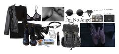 """""""//""""You've been keeping count of the lips of the boys you bite. Spiking all your own drinks at the start of every night. """"""""//"""" by dxnnie-darko ❤ liked on Polyvore featuring Elle Macpherson Intimates, Wolford, Proenza Schouler, Monki, Alexander Wang, Agent Ninetynine, Lord & Berry, Dr. Martens, Retrò and NARS Cosmetics"""