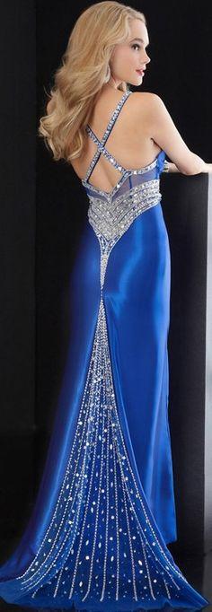 stunning blue.