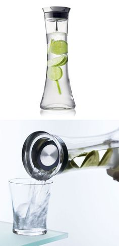 Modern Citrus infusing Water Jug ♥ Great for Martinis too!