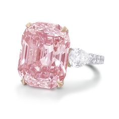 What is diamond color? It's part of the of diamond education and it's talking about the lack of color in a diamond. Here you'll discover what you need to know about diamond color, as well as, myths, tricks to watch out for, and money saving tips. Pink Love, Pretty In Pink, Perfect Pink, Hope Diamond, Huge Diamond Rings, Blue Diamond Jewelry, Pink Diamond Ring, Pink Ring, Faberge Eier