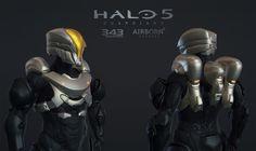 ArtStation - Halo 5 Multiplayer Armor Venture, Airborn Studios