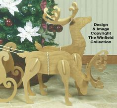 All Christmas - Medium/Small White Reindeer Pattern Wooden Reindeer, White Reindeer, Reindeer And Sleigh, Rustic Christmas, Christmas Crafts, Christmas Decorations, Christmas Ornaments, Scandinavian Christmas, Wooden Crafts
