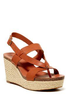 Naturale Platform Wedge Sandal