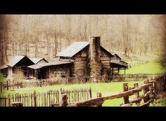 Pioneer Farm is one of the attractions at Twin Falls State Park in Wyoming County, WV.
