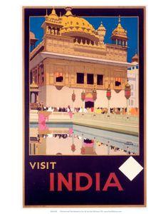 Indian State Railways: Visit India Kunstdruk