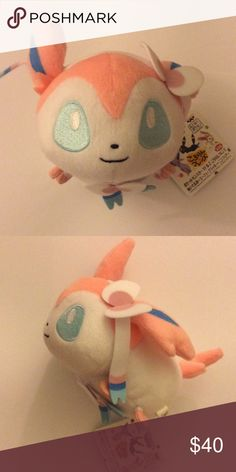 ⚡️SALE⚡️Authentic Sylveon Pokemon Plush from Japan Rare :) NWT style similar to tsum tsum price is firm Other