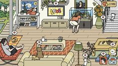 Cute App, Layout Inspiration, Home Deco, Layouts, Sweet Home, Game, Random, Places, House