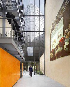 Pathé Fondation, Renzo Piano Building Workshop, Renzo Piano, Außenansicht, Dach, Paris