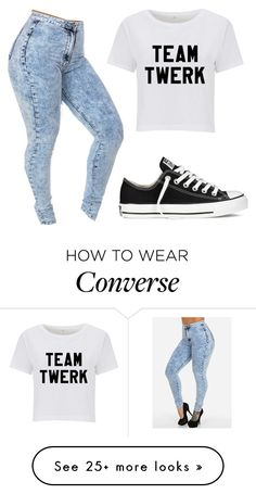 """""""Untitled #2403"""" by cakeboossmafiaa on Polyvore featuring Converse"""
