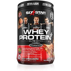 Six Star Pro Nutrition Elite Series Whey Protein Powder , Triple Chocolate, 2 lb. (Packaging may vary)