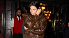 Forget Dad Sneakers—Kendall Jenner Is Doing the Dad Jacket Fashion Today, Fashion Online, Kendall Jenner, New Balance Runners, Angels Boutique, Kardashian Family, Dad Sneakers, Spring Shirts, Trends