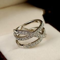 New Fashion Rounding Women's Cocktail Ring - USD $44.95