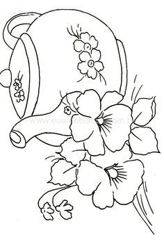 Irresistible Embroidery Patterns, Designs and Ideas. Awe Inspiring Irresistible Embroidery Patterns, Designs and Ideas. Hand Embroidery Patterns, Applique Patterns, Ribbon Embroidery, Embroidery Stitches, Machine Embroidery, Embroidery Designs, Colouring Pages, Coloring Books, Applique Templates