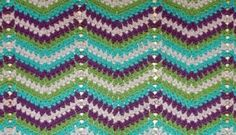 Faded Ripple ~ Free Crochet Pattern