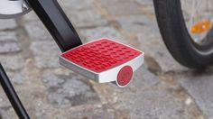 Pedales con tecnología que indica si tu bicicleta está siendo robada. #RepDom #Tecnología #Futuro