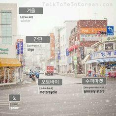 ❋Learn Korean - 8.Vocabularies with pictures (talktomeinkorean.com)
