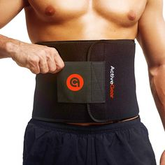 ActiveGear Premium Waist Trimmer Belt Slim Body Sweat Wrap for Stomach and Back Lumbar Support Yellow Large 9 x 46 * Continue to the product at the image link. (This is an affiliate link) Best Trimmer, Trimmer For Men, Weight Loss Wraps, Best Weight Loss, Waist Trainer For Men, Sweat Belt, Lower Back Muscles, Belly Fat Burner, Workout Accessories