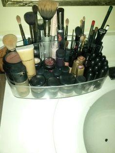 JUST a little piece of my biiig piece of heaven #makeup#mac#urbandecay#makeupforever
