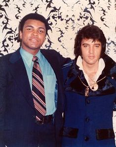 The King n Cassius Clay