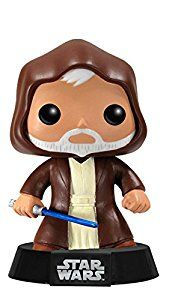 Obi-Wan Kenobi: Funko Pop! Star Wars:: Amazon.co.uk: Toys & Games