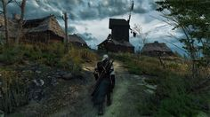 The Witcher 3 Wild Hunt War ravaged these lands, nobody lives here anymore