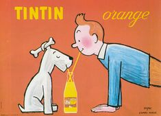 TINTIN orange
