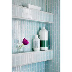 A shower niche that extends out from the wall easier to keep clean! 2019 A shower niche that extends out from the wall easier to keep clean! The post A shower niche that extends out from the wall easier to keep clean! 2019 appeared first on Shower Diy. Remodel, Bathroom Makeover, Shower Niche, Shower Storage, Tile Shower Shelf, Shower Shelves, Bathrooms Remodel, Bathroom Decor, Bathroom Inspiration