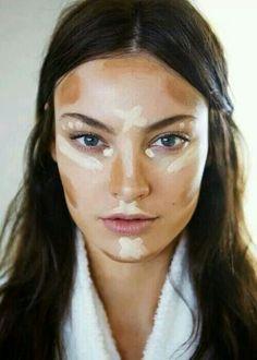 Como contornear el rostro...ovalado.