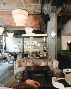 Home Decoration For Small House Cafe Interior Design, Cafe Design, House Design, Living Room Designs, Living Spaces, European Cafe, Bar A Vin, Table Cafe, Hospitality Design