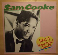 SAM COOKE - What a wonderful world - near mint nm