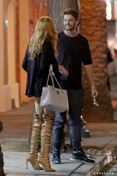 Pin for Later: Patrick Schwarzenegger Had Dinner With Bella Thorne, but Don't Jump to Any Conclusions