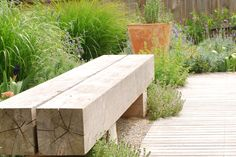 Simple Timber Bench Design