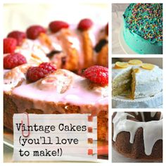 8 Delicious Vintage Cakes You'll Love to Make