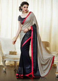 Bollywood Designer Saree Indian Party Wear by JTInternational, $89.99