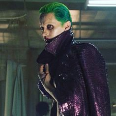 Is it weird that don't find Jared Leto attractive in the slightest, like not even a little bit... And yet I am completely and utterly obsessed with his version of The Joker?! Weird.