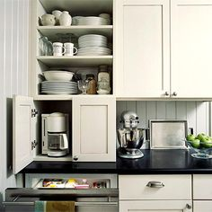 kitchen cabinets small appliance storage 1000 images about appliance garages on 21194