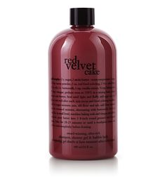 red velvet cake  shampoo, shower gel & bubble bath