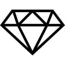 Image result for simple diamond drawing
