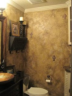 1000 images about bathroom ideas on pinterest shabby - How to prepare bathroom walls for painting ...
